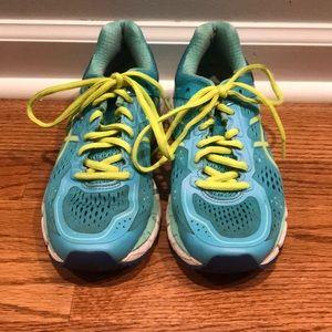ASICS Gel-Kayano 22 women's running shoes.